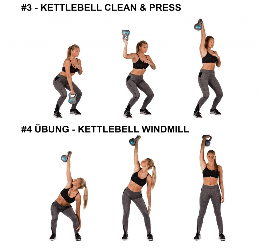 exercices kettlebell